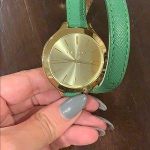 Michael kors double wrap watch